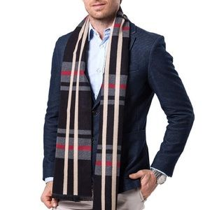 NWT Plaid Scarf - Perfect for a suit